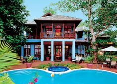 """How about this little vacation """"villa""""  ;)"""