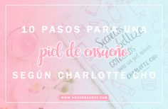 Secretos de belleza coreanos para una piel radiante de Charlotte Cho - #libros #books #kbeauty #beauty #makeup #maquillaje #cosmética