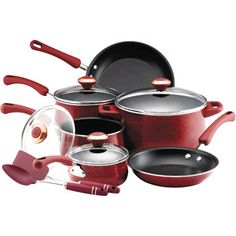 Paula Deen 12-Piece Non-Stick Cookware Set