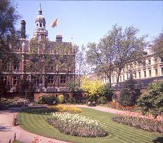 Croydon Clocktower from Town Hall Gardens