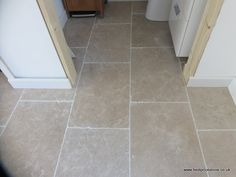 Dijon Tumbled Limestone 600x400x15mm Limestone Flooring, Kitchen Remodel, Floors, Tile Floor, Flats, Tile Flooring, Updated Kitchen, Floor, Kitchen Renovations