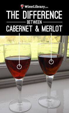 What's the difference between Cabernet Sauvignon and Merlot? More importantly, what kind of celebrity couple couple would they be? {wineglasswriter.com}