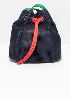 & Other Stories   Clare Vivier Leather Bucket Bag