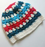 Ravelry: Granny Stripe Beanie pattern by Danielle Day-Hines