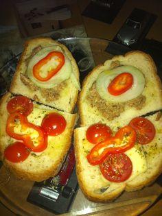 Little sandwiches...