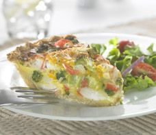 Crab Classic & Broccoli Quiche