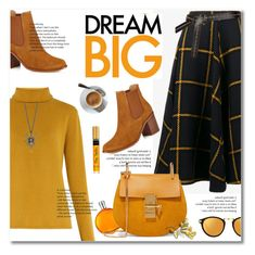 cheer by limass on Polyvore featuring polyvore fashion style Chloé JOUR/NÉ Linda Farrow Hermès clothing