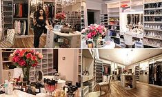Huda Kattan opens the doors to her dazzling and VERY immaculate pamper room Huda Kattan, Huda Beauty, Mail Online, Daily Mail, The Incredibles, Doors, Hair Styles, Hair Plait Styles, Hair Makeup