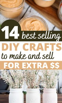 Cheap Homemade crafts to sell! I love all of these trending crafts to sell in 2020. These will be the most popular craft fair items that are sure to sell out quick! Diy Crafts To Sell On Etsy, Diy Projects To Make And Sell, Diy Projects To Sell, Crafts For Kids To Make, Wood Projects, Girls Night Crafts, Crafts For Girls, Trending Crafts, Popular Crafts
