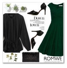 """Romwe 10"" by almamehmedovic-79 ❤ liked on Polyvore featuring Dot & Bo"