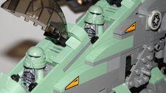 Lego Kashyyyk-Gunship 7676 UCS - Custom Star Wars