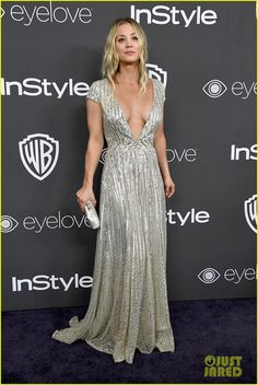 Kaley Cuoco & Jamie Chung Bring Their Significant Others to Golden Globes 2017 Party!