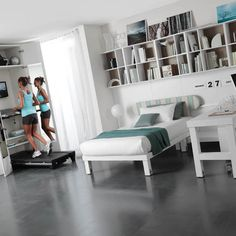 treadmill nook  create a fun exercise corner ·  oasis