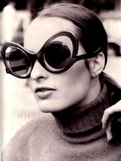 Unidentified vintage sunglasses by unknown talented designer #eyewear #lunettes #googles #spectacles #weird - Carefully selected by GORGONIA www.gorgonia.it