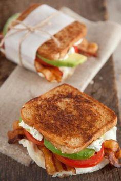 Egg sandwich. Paula Dean