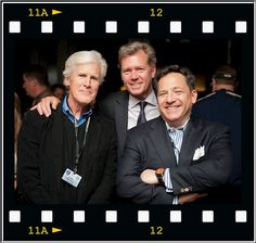 Dateline's Top 3 ~ Keith Morrison (L), Josh Mankiewicz (R), Chris Hansen (Middle).