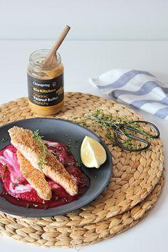 Salmão, beterraba e manteiga de amendoim | Salmon, beetroot and peanut butter