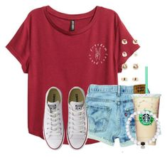 "~""It's a hard knock life for us.""~ by flroasburn on Polyvore featuring Converse and Forever 21"