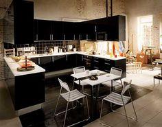 Klasik Modern Mutfak Dekorları