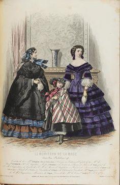 Le Moniteur de la Mode, 1857. University of Dusseldorf.   In the Swan's Shadow