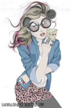 guerrilla nerd: illustration