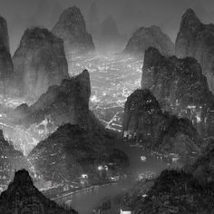 the silent city by yang yongliang