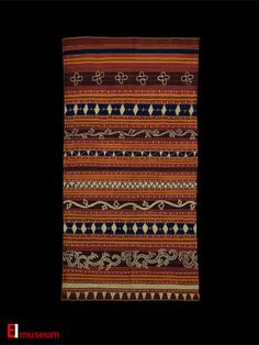 19th c. Tapis from the Abung of Lampung Sumatera