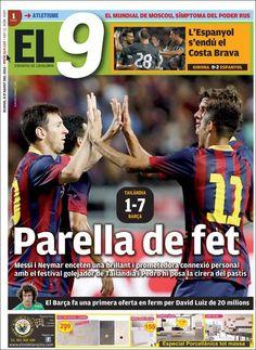 Prensa deportiva del 8 de Agosto 2013