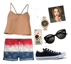 """""""Untitled #24"""" by solbenson on Polyvore featuring TIBI, Converse, Charlotte Russe and Michael Kors"""