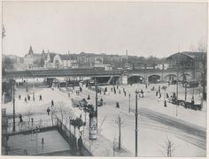 Charlottenburg Hardenbergstrasse, bahnhof Zoologischer garten ca 1904