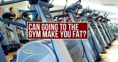 A new study shows that a quarter of gym users actually gain weight when they start exercising! Nutrition, Going To The Gym, Vacuums, Juice, Fat, Exercise, Make It Yourself, Canning, How To Make