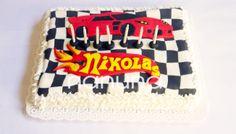 Torta Hot Wheels. #Cupcakes #Tortas #Argentina #Nanuna Conocenos en http://nanuna.com.ar/
