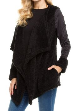 Black Soft Open Jacket/Cardigan - Sm to Lg 12 Days Till Christmas Specials * 20% off all Clothing * Name Brands 15% off * Bath Products 10% off   Both Statesville & Mooresville open 10-7!