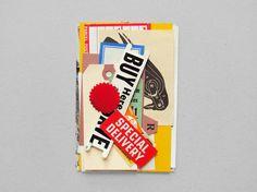 Paper Bag by Present&Correct via Jessica and Etsy #ephemera #vintage