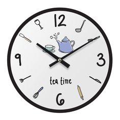 Doodle Wall Clock, MDF
