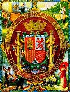 Escudo conmemorativo de la Constitución de 1.931