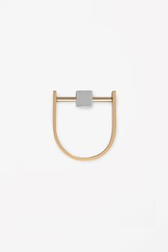 cube bead ring by COS