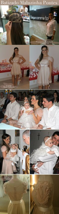Sempre recebo pedidos de dicas de fofuras para bebezinhos. Assim, foi impossível resistir postar sobre o batizado de Maria Luiza, filhota fofucha de Fernanda Pontes e Diogo Boni. Maluzinha esta a c…