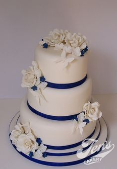 Royal Blue and White Wedding | Recent Photos The Commons Getty Collection Galleries World Map App ...