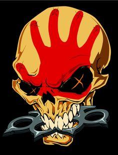 Five Finger Death Punch — ink-metal-art:   5FDP