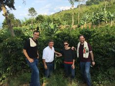 Beautiful and fragile coffee farms in Colombia, under imminent threat from global warming.