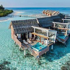 Wonderful resort in Maldives Top 10 Hotels, Hotels And Resorts, Best Hotels, Marriott Hotels, Most Luxurious Hotels, Ibiza Travel, Luxury Travel, Maldives Travel, Paisajes