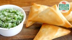 How to make lamb samosa with coriander chutney, super easy recipe for you to try #myvirginkitchen #barrylewis #recipe #video