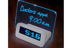 Written Reminder Alarm Clock | Gadgets 4 Guys