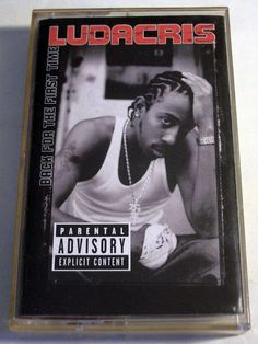 "Ludacris ""Back For The First Time"" Music Cassette Tape 2001 Island Def Jam #Southern"