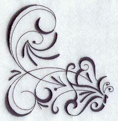 filigree+design+tattoos | Machine Embroidery Designs at Embroidery Library! - Inky Butterfly ...