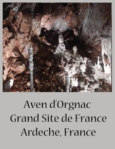 Visiting the Ardeche? Then visit Aven d'Orgnac Grand Site de France. Explore the caves with kids. Great day out