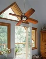 """Image result for Casa Vieja Pronto Ceiling Fan - 32"""" Brushed Nickel"""