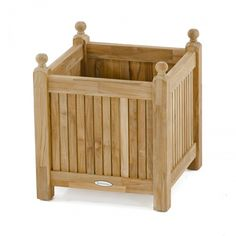 The x Square Teak Planter is perfect for holding your favorite potted plant or when lined properly can hold your plant directly holding Approximately gallons. All our teak planters are backed by a 5 year warranty. Teak Garden Furniture, Furniture Design, Westminster Teak, Best Retirement Gifts, Square Planter Boxes, Planter Bench, Teak Dining Table, Wooden Planters, Teak Wood