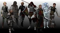 The first Main Party Pack contains 24 highly-detailed characters with numerous resources each.